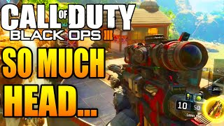 "SO MUCH HEAD… - Black Ops 3 Road To ""Diamond Camo"" Snipers! (Multiplayer Gameplay) #5"