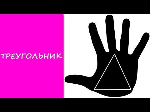 ТРЕУГОЛЬНИК на руках / хиромантия / Кладезь Хиромантии