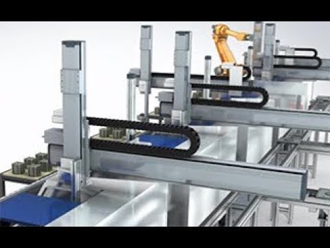 Taiyo Cabletec Corporation/Robot cable PR movie [Cableveyors version]
