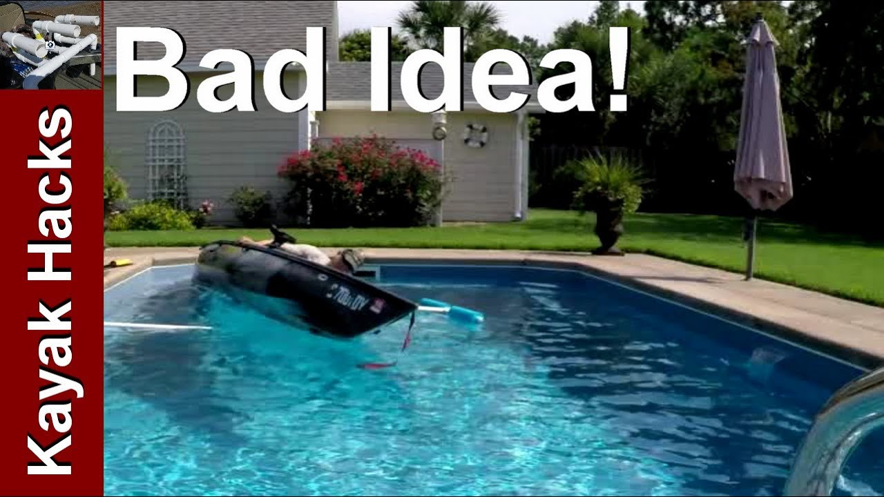 Don't Make a Kayak Fishing Stabilizer / Outrigger this Way! - YouTube