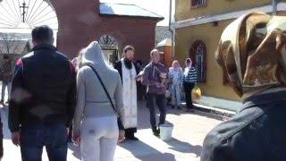 Никольская церковь г.Киржач. Освящение куличей и пасхальных яиц.(, 2016-04-30T18:54:39.000Z)