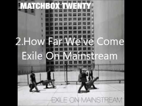 My favorite matchbox twenty songs