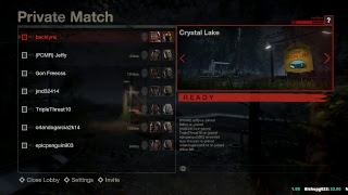 Playing as Jason every 3 rounds! Friday the 13th day 3 marathon :)
