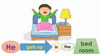 Rooms and Actions Vocabulary and Phrases - Interclass Video