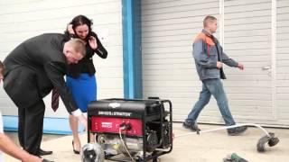 видео Бензиновые генераторы Briggs&Stratton, купить инверторный бензогенератор Briggs Stratton