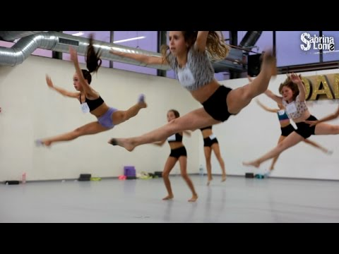 Audition classe concours - Lyrical contemporary jazz  choreo SabrinaLonis