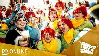 Karneval 2018 in Düsseldorf: Die Möhne stürmen das Rathaus