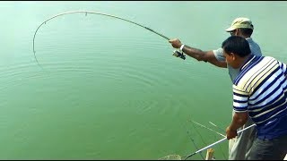 Strongly Catla Fishing Videos By Fish Watching