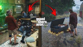 What Happens If You Visit Trevor's House After He Dies in GTA 5? (Secret Trevor's Grave)