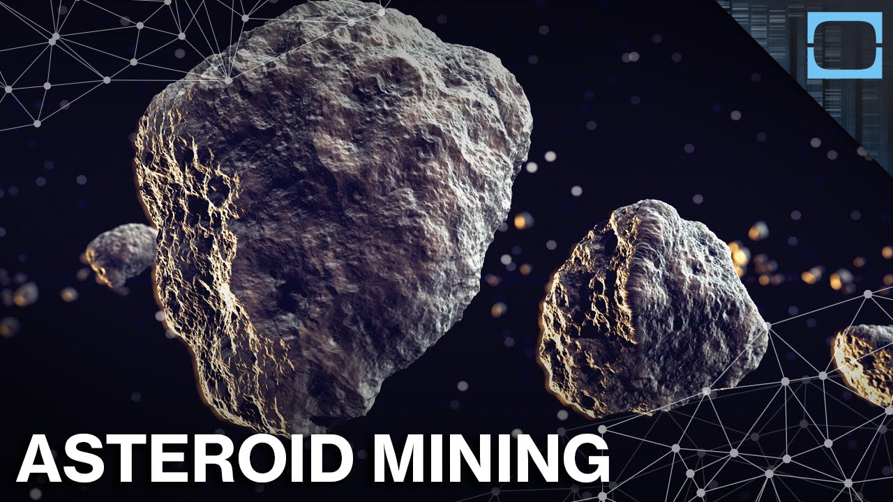 We're getting serious about mining asteroids