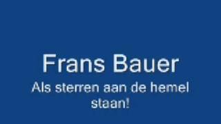 Frans Bauer - Als sterren aan de hemel staan[Live]