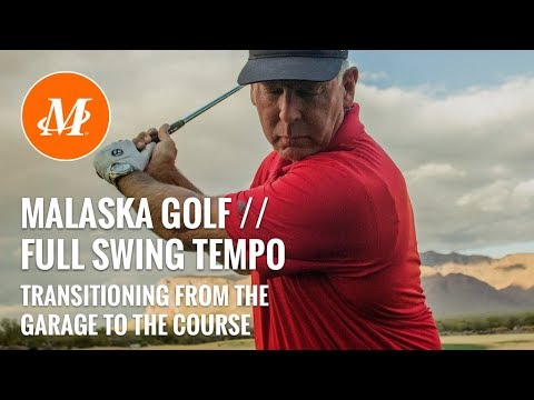 Malaska Golf // Golf Swing – Motion – Tempo // From Garage to the Course