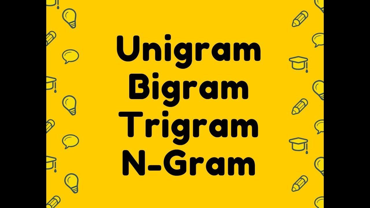 Unigram,Bigram,Trigram,N-Gram Calculator