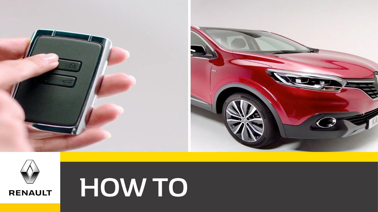 Renault Kadjar Keyless Technology Youtube