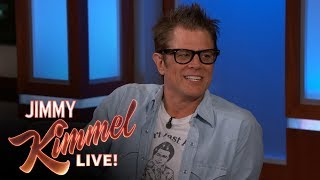 Johnny Knoxville's Son Eats Wasabi Ball