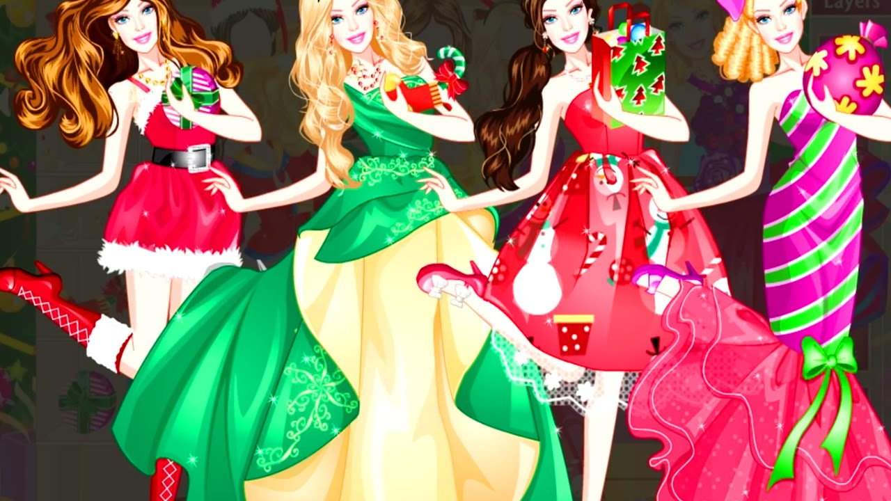 Dress Christmas up games pictures photo