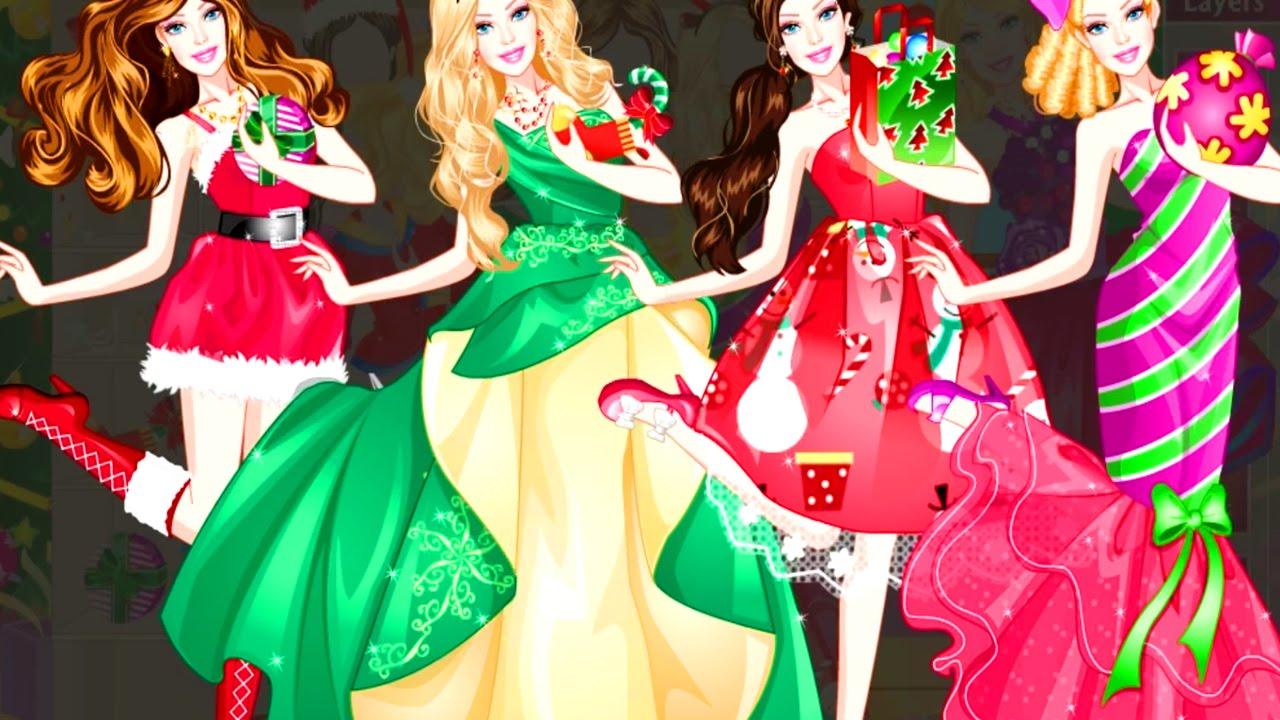 barbie christmas dress up dress up game barbie game - Christmas Dress Up