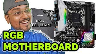 BUDGET RGB Gaming Motherboard.