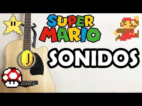 SONIDOS DE SUPER MARIO BROS EN GUITARRA!