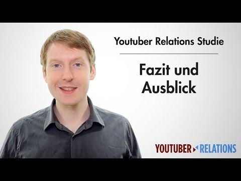Youtuber Relations Studie - Teil 18: Fazit Und Ausblick