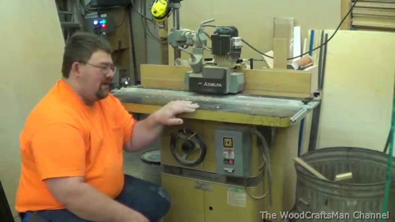 Powermatic 27 Shaper Spindle Pulley Repair Part 1 of 3