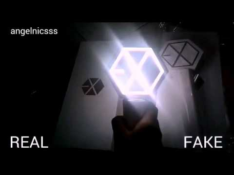 How to know if your EXO LIGHTSTICK VER 2 is real or not