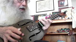 Open D Tuning Train Beat Strumming  Lesson