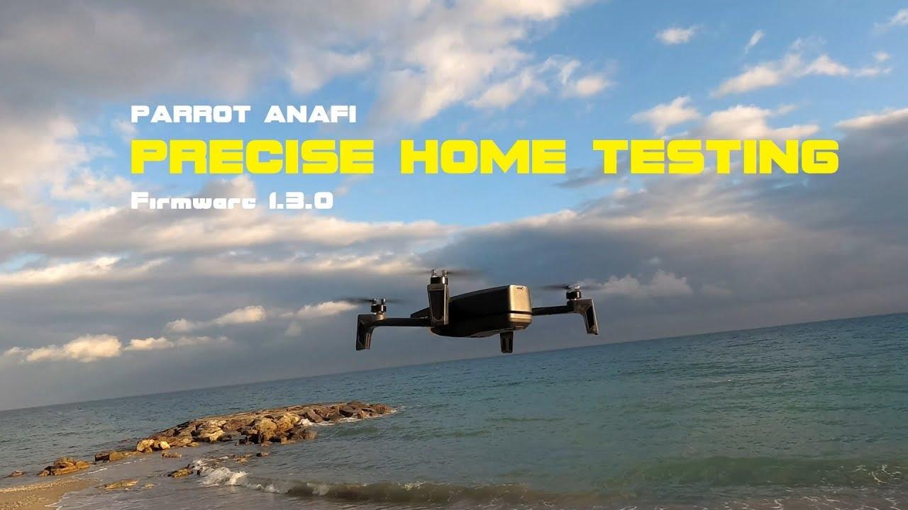 ⭐ Parrot ANAFI prova atterraggio di precisione PRECISE HOME