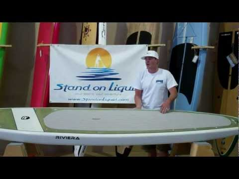 Stand up paddle board review of 12 foot 6 inch Riviera Voyager touring SUP