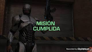 JUGANDO CON LA TECNOLOGIA DEL FUTURO!!!!!    Robocop 1P