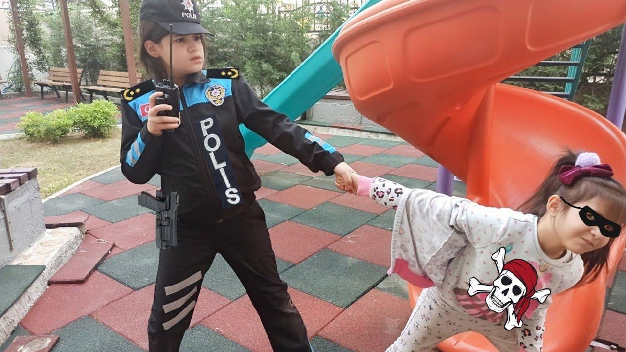 Melisa babasının arabasına binmedi | polis | polis arabası | polis sireni