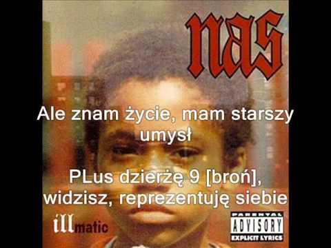 Nas - One Time 4 Your Mind Napisy PL mp3