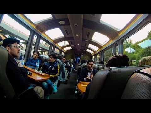 Tren Vistadome de Cuzco a Aguascalientes para subir a Machupicchu