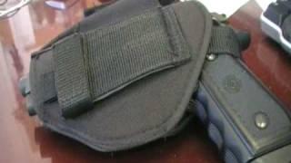 Cheap Handgun Holster Review - Crosman Airsoft Holster