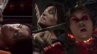Mortal Kombat 11 All Secret Fatalities Done On Jade (Human)