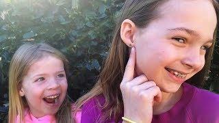 Addy Gets Her Ears Pierced
