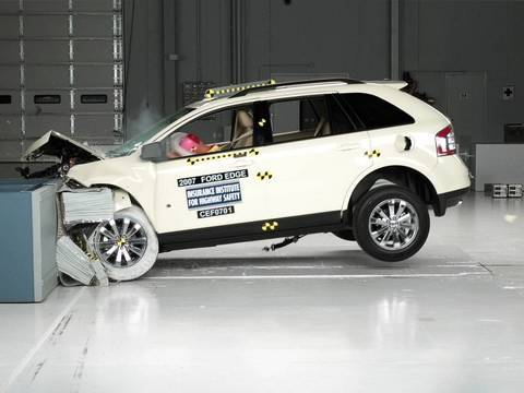 Ford Edge Moderate Overlap Iihs Crash Test