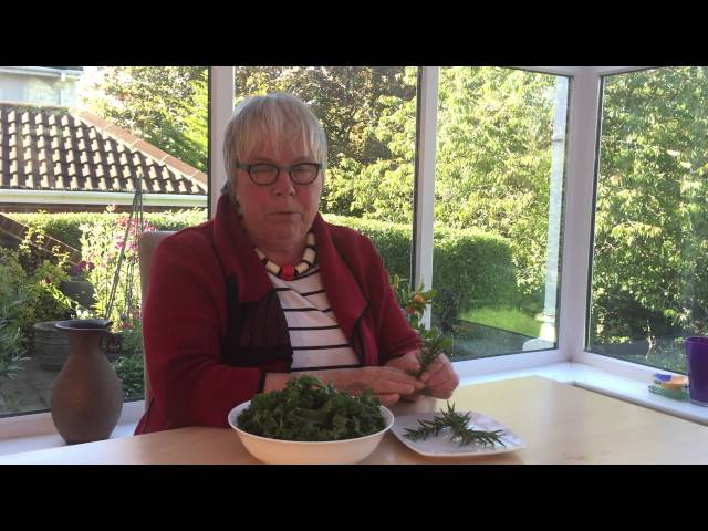 Video about cooking Kale with Rosemary