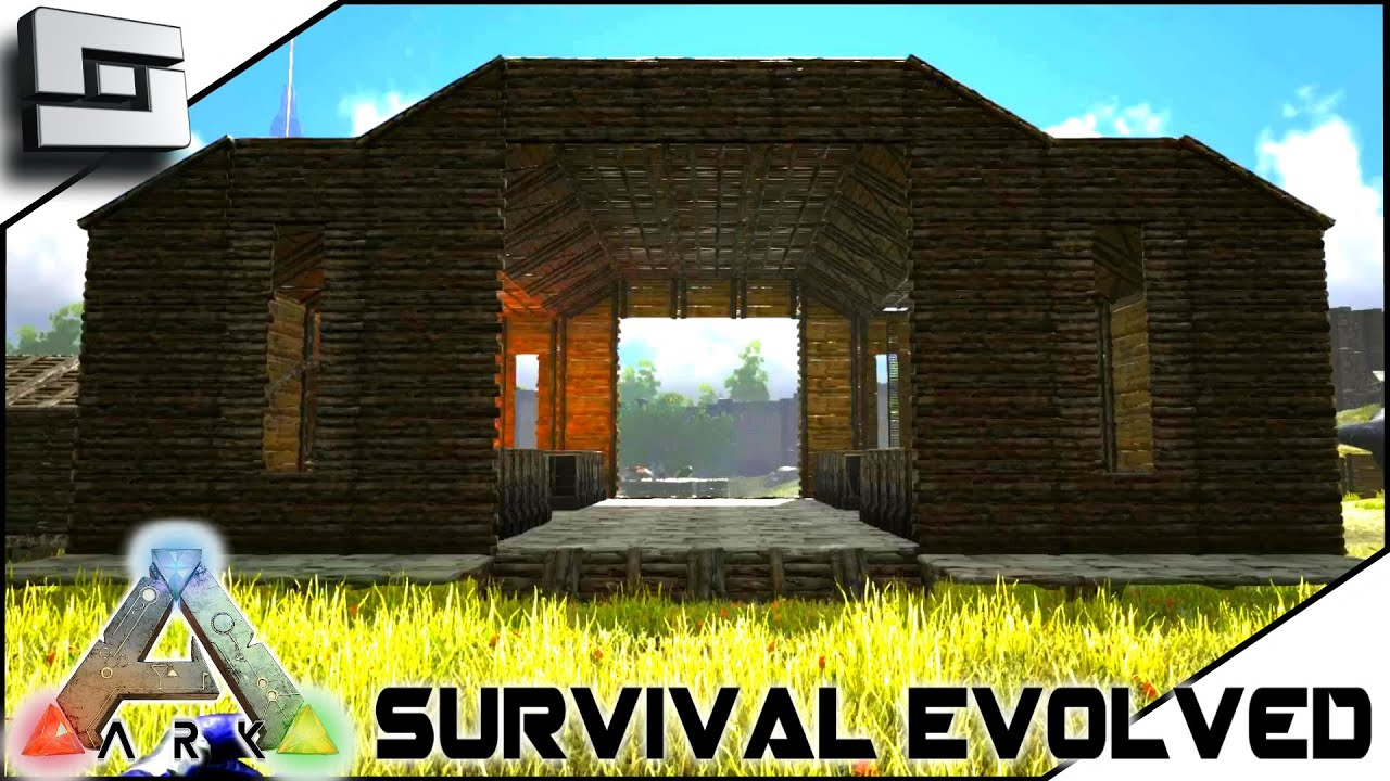 ARK Survival Evolved NEW BASE BUILDING S2E28