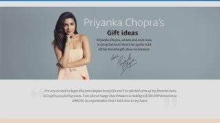 See Priyanka Chopra's Wedding Registry!