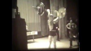 1969 Жим 75кг в 15 лет Г. Зобач