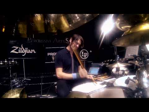 Zildjian Performance - Glenn Kotche of Wilco plays Art of Almost