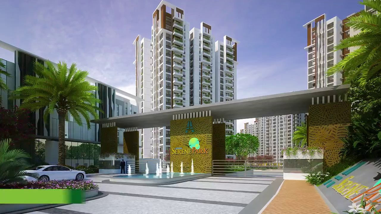 Luxury Gated Community Apartments for Sale in Kondapur  Aparna Serene Park  YouTube