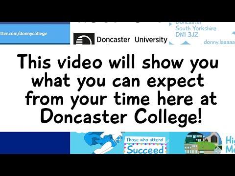 Doncaster College & University Centre Induction Video 2015