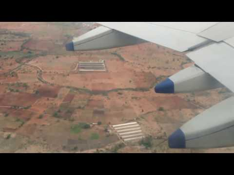 Pawan Kalyan Landing at GMR Airport Hyderabad | Aerial view of Hyderabad | Shamshabad Airport