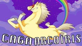 JACK: EL UNICORNIO CAGA ARCOIRIS | Robot Unicorn Attack - JuegaGerman