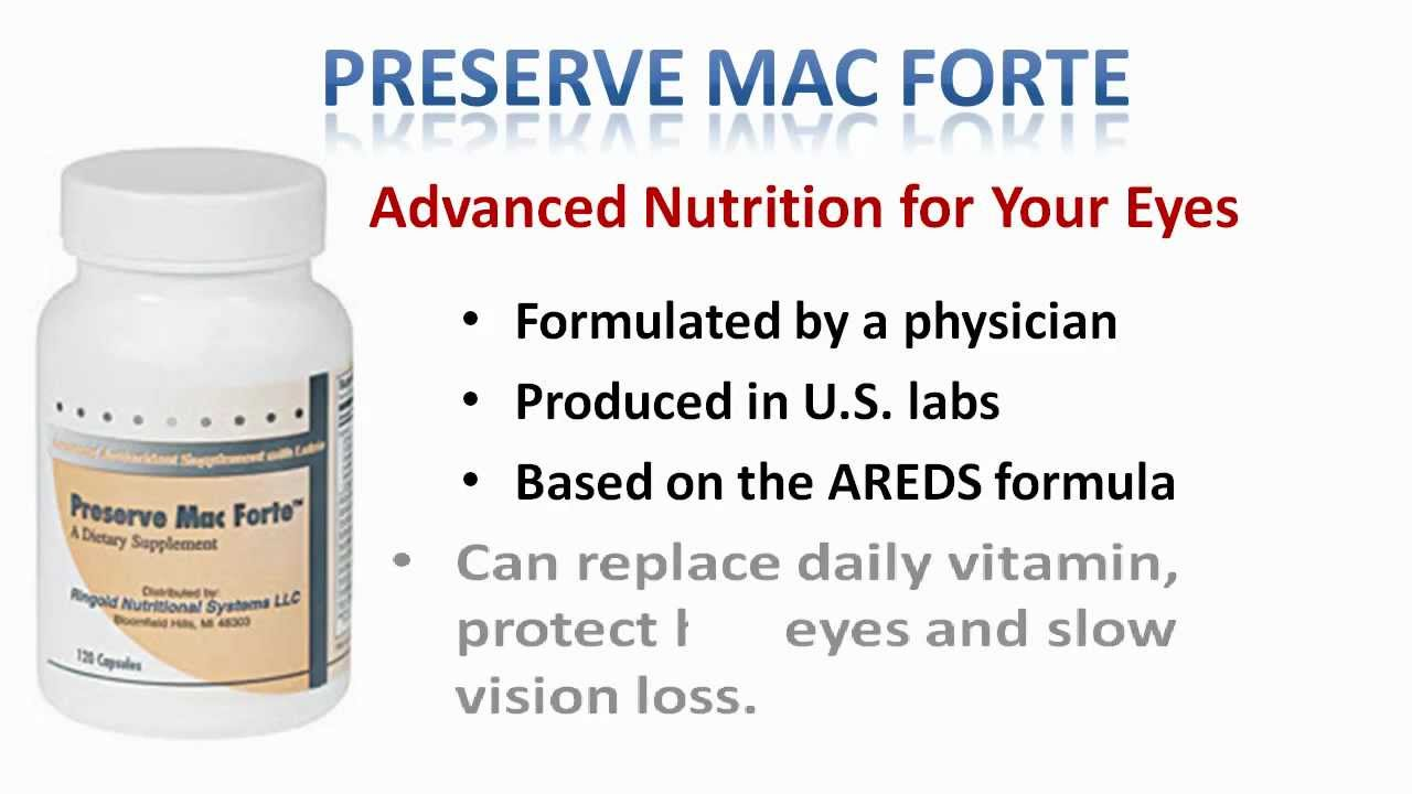 Our Mission | Preserve Mac Forte for Age Related Macular