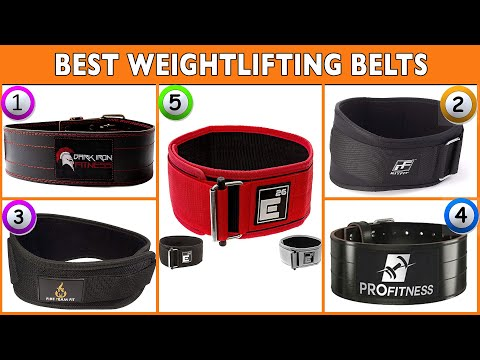 Best Weightlifting Belts 2020 Top Powerlifting Belt Reviews