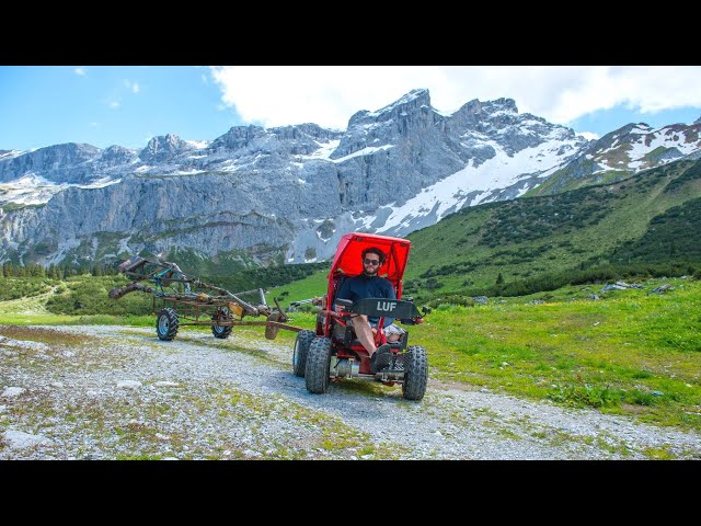 LUF Mobil in the Alps - Electric Offroad Wheelchair