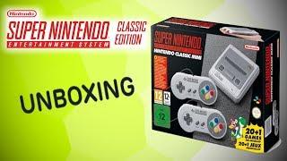Super NES Classic Mini Unboxing